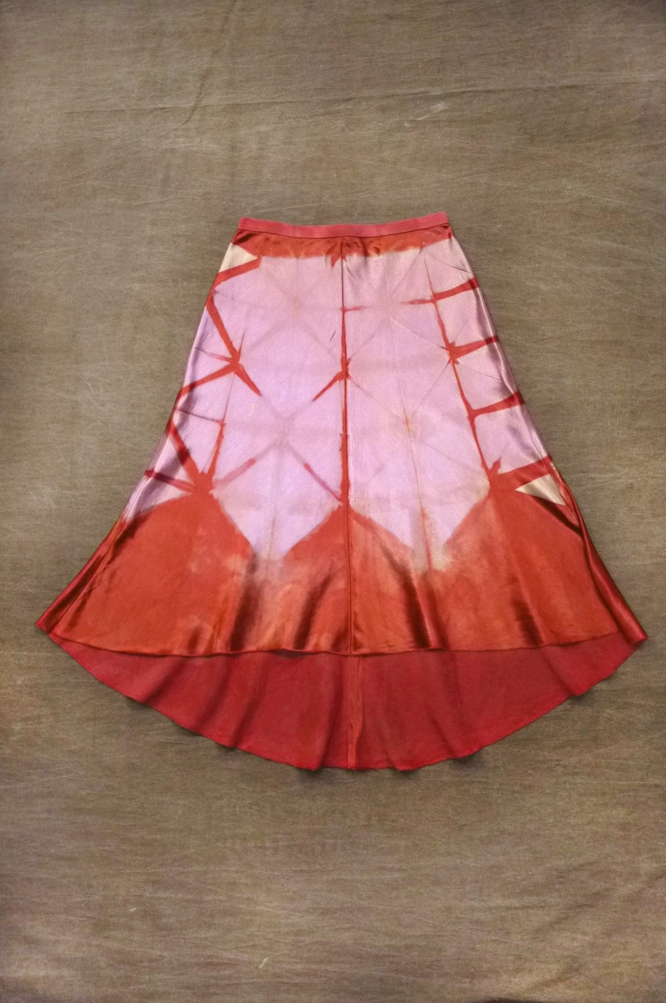 Geode Skirt in Redbud