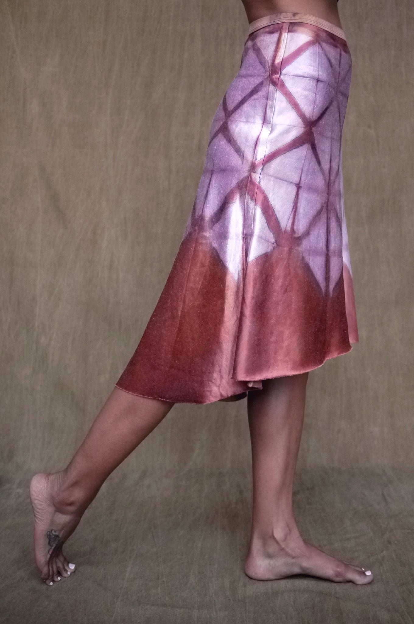 Geode Skirt in Foxglove