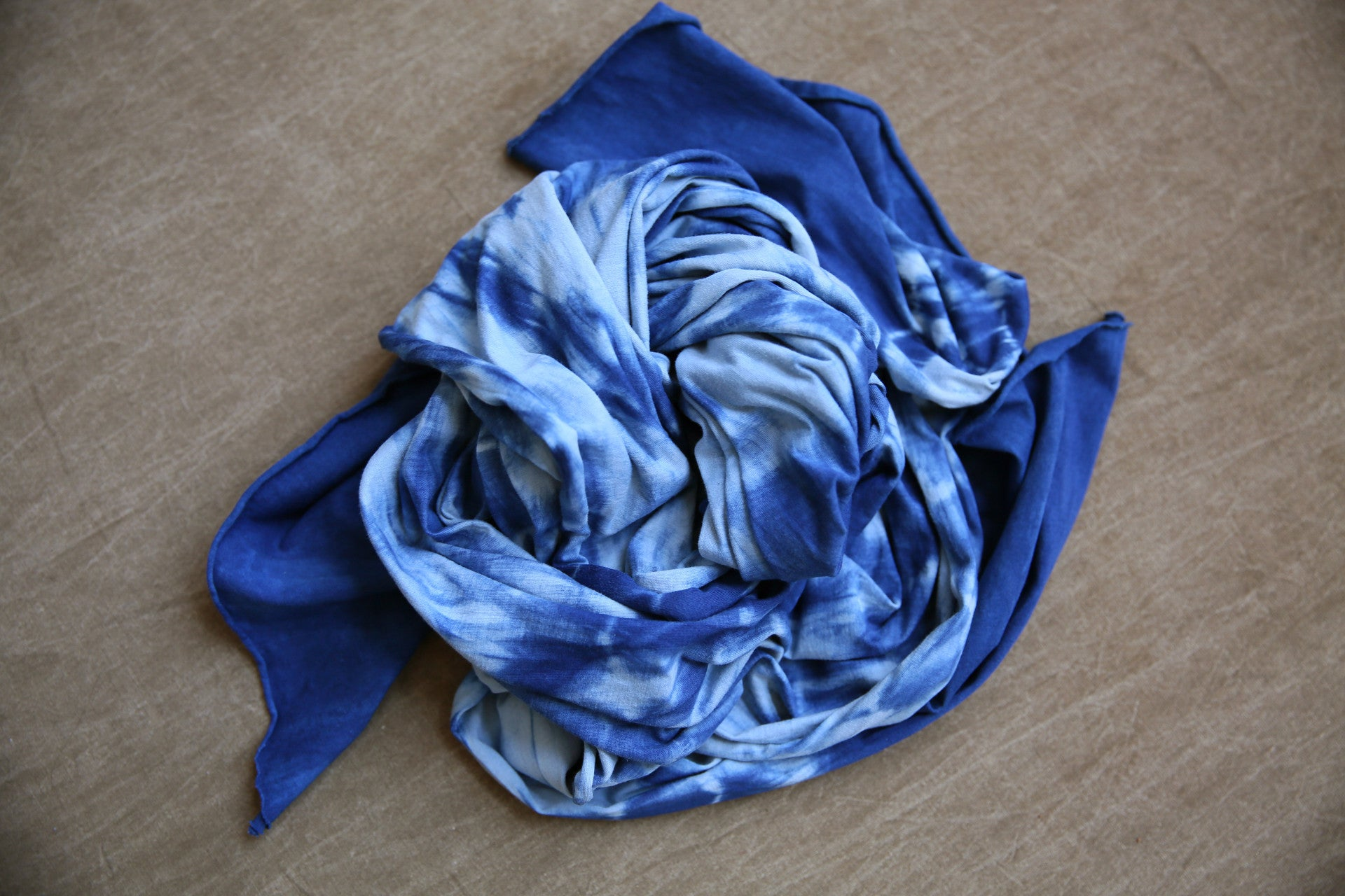 Indigofera Scarf In River