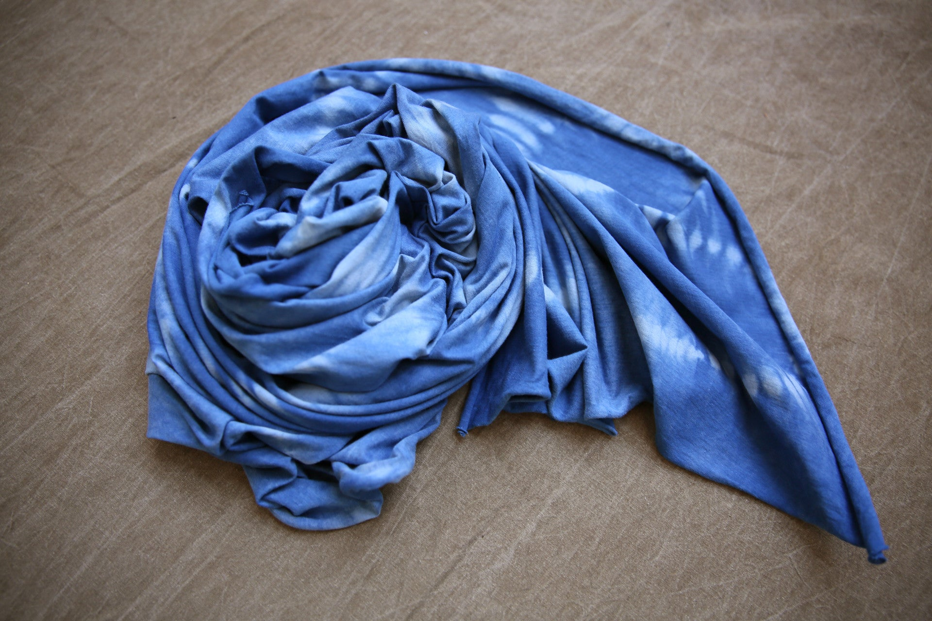 Indigofera Scarf in Rain Path