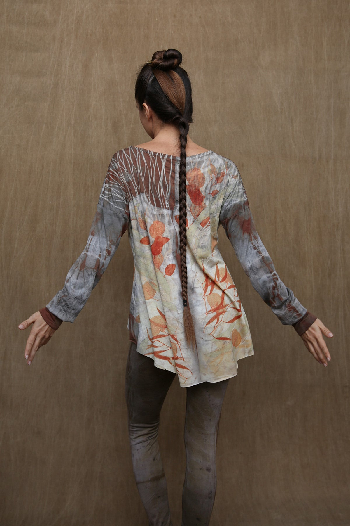 Woodswalker Long Sleeve in Smoke & Flame
