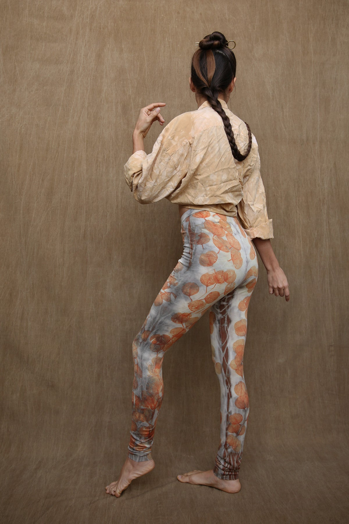 Woodswalker Leggings in Afterglow