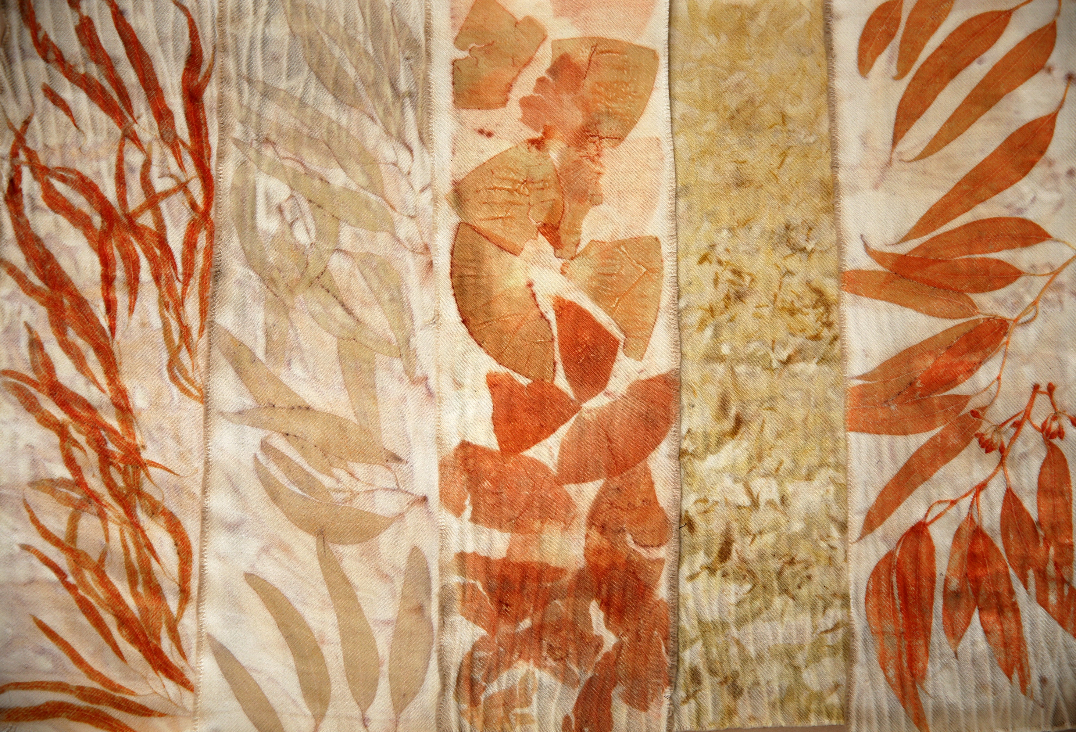 Eco Printing Workshop at O'Hanlon Center for the Arts (With Your Community Supported Cloth)