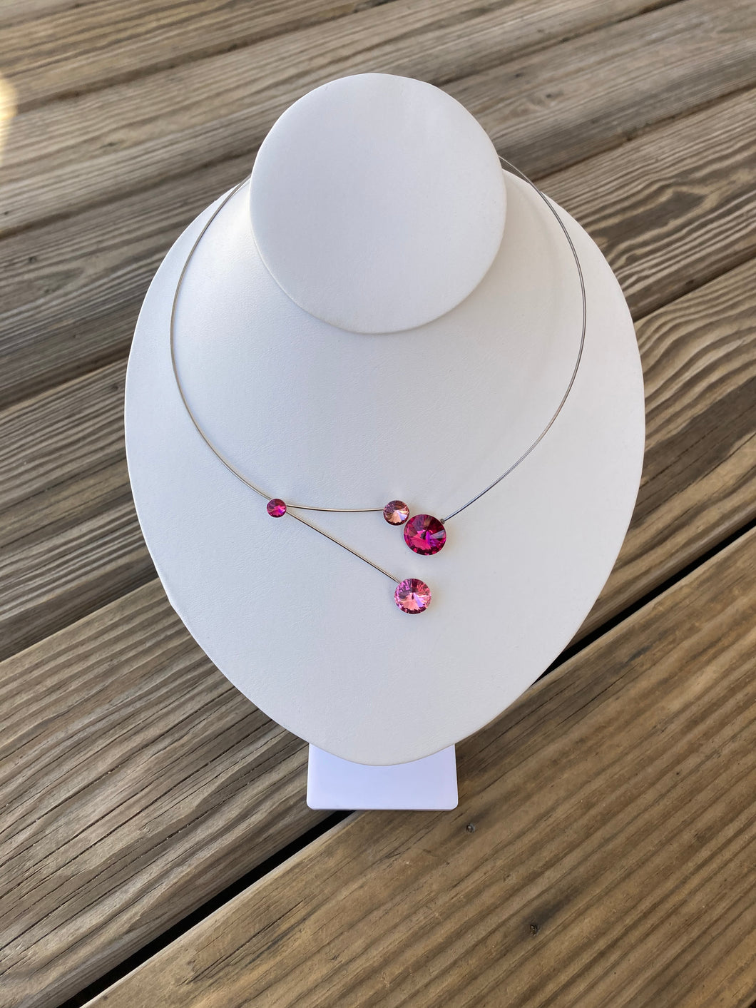 Kristina Fuchsia Necklace