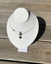 Load image into Gallery viewer, Kristina Black and Grey Combo Necklace