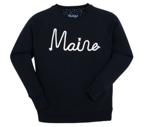 Vacationland Maine Rope Crew Sweatshirt