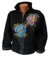 Load image into Gallery viewer, Victoria Floral Painted Sweater