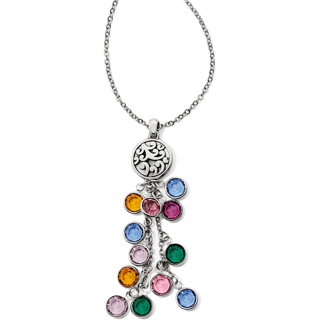 Elora Gems Cascade Necklace