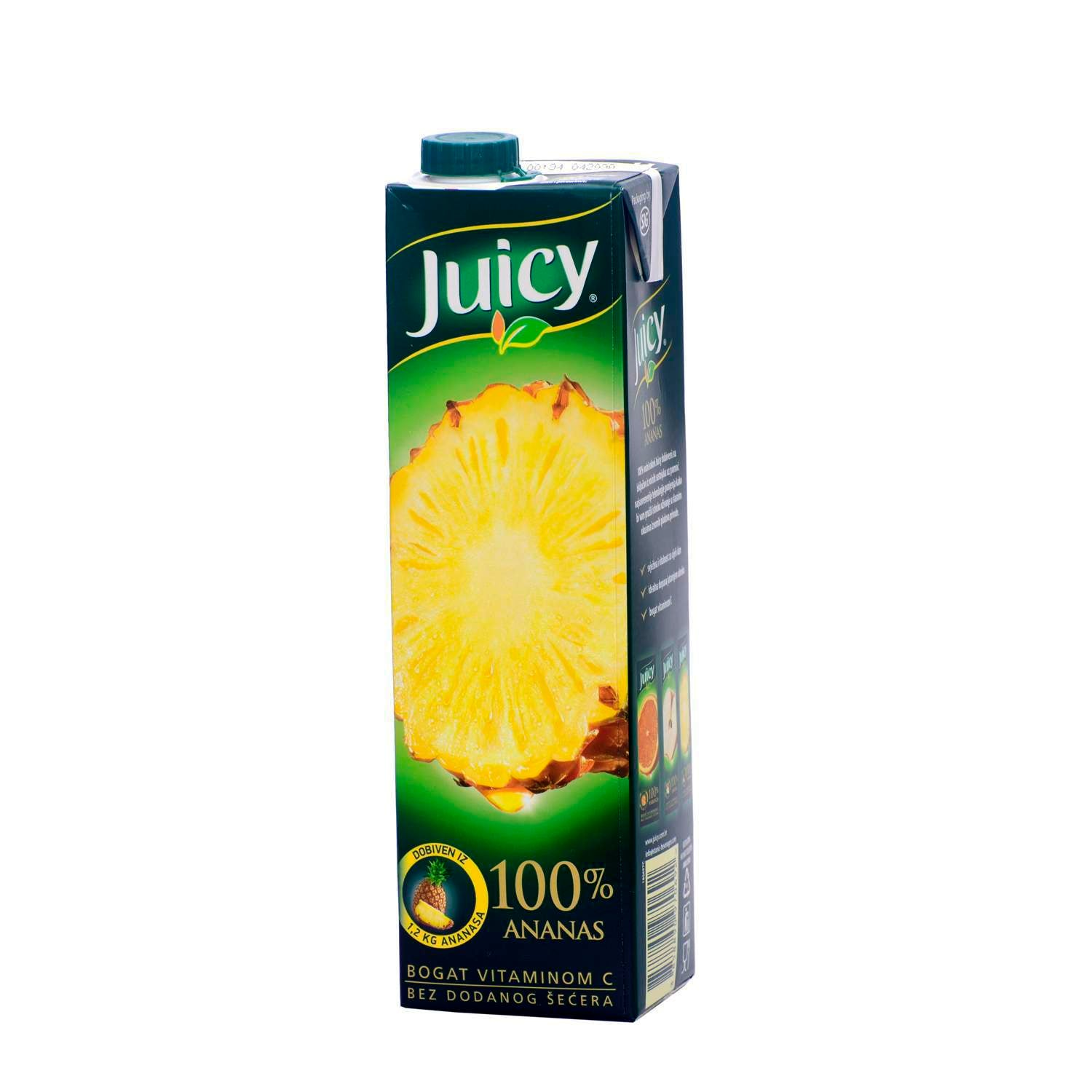 aga>Juicy Pineapple Juice 1l