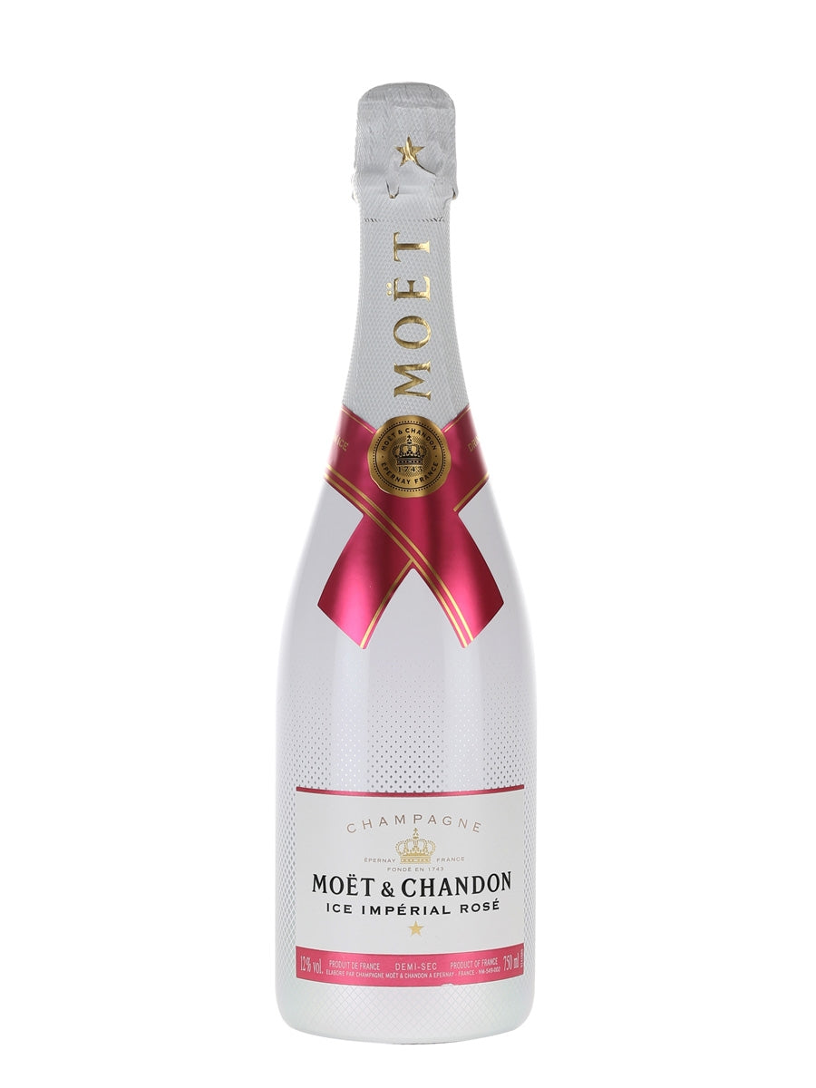 aga>Moet & Chandon Rose Imperial Champagne 750 ml