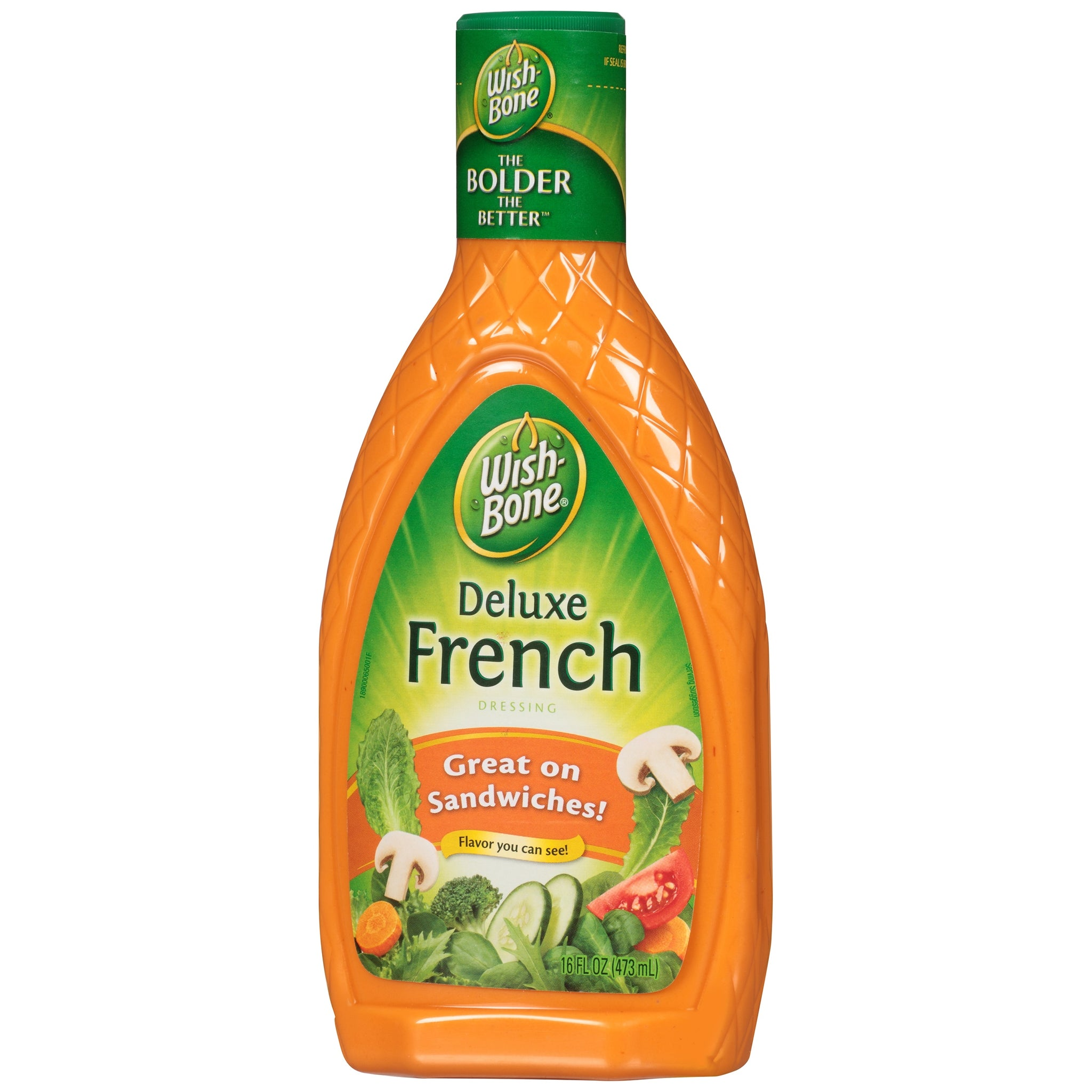 bah>Wishbone French Dressing, 8oz (23cl)