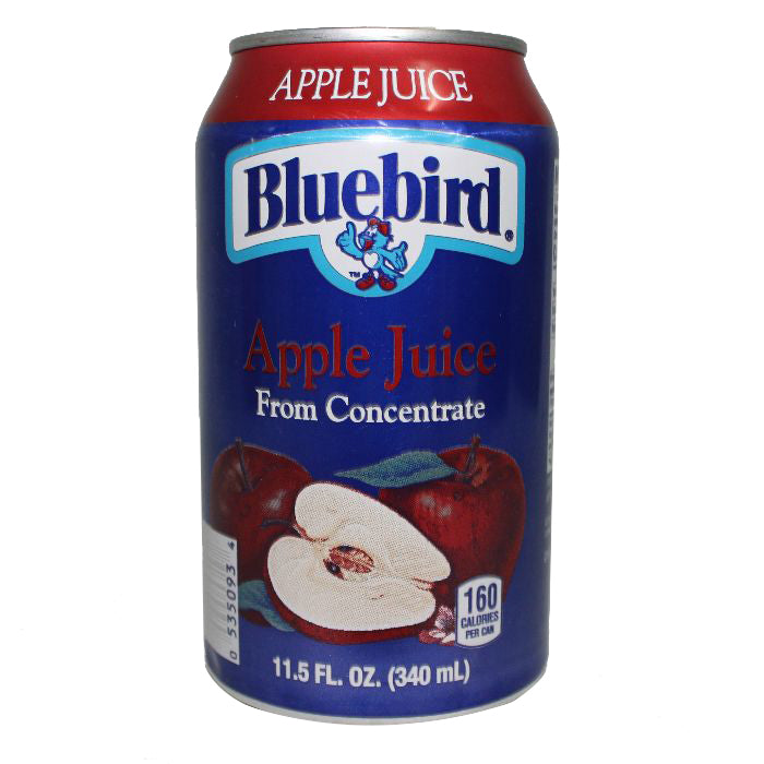 bah>Bluebird Apple Juice, 12oz