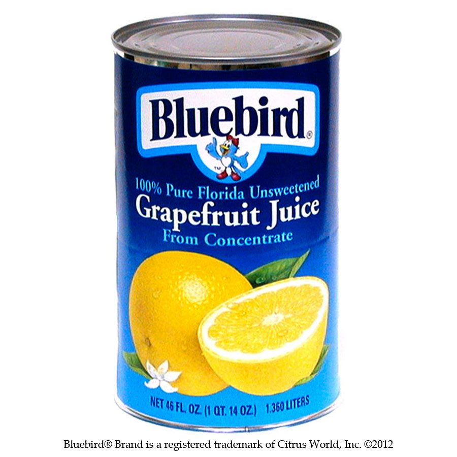 bah>Bluebird Grapefruit Juice, 1.89 litre