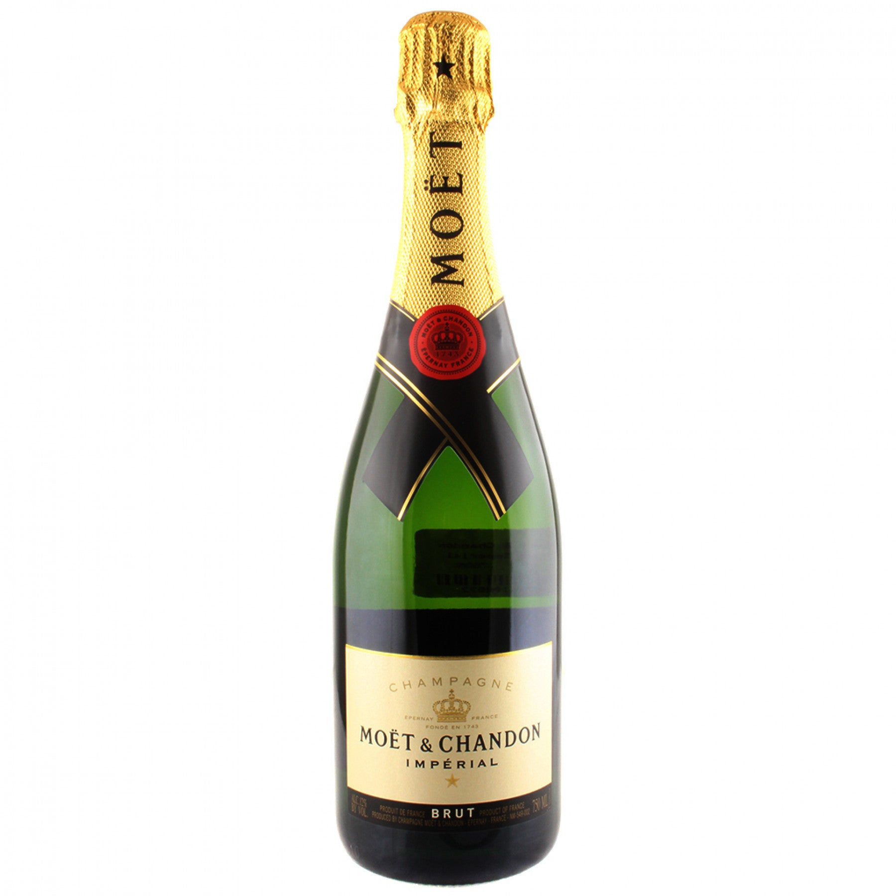 bah>Moet & Chandon Champagne, 750ml