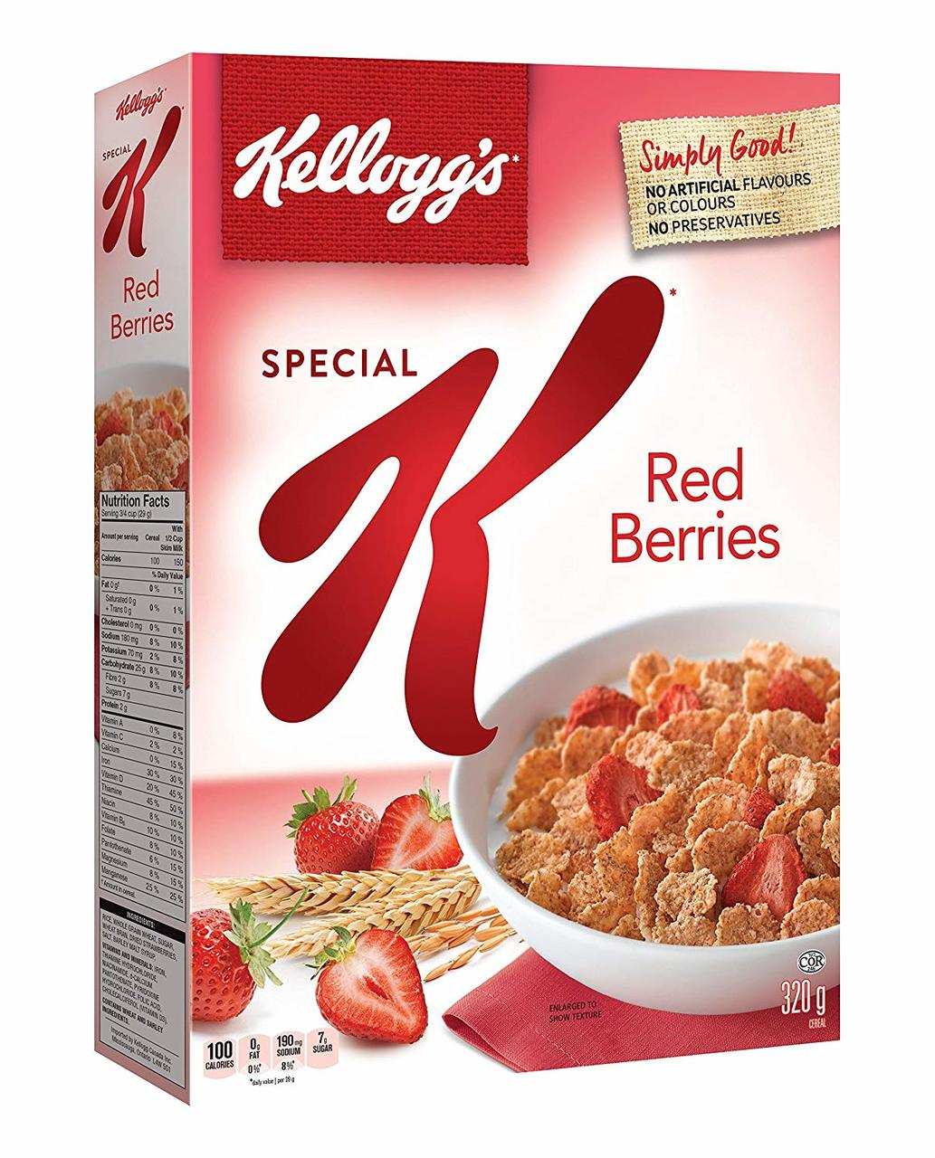 stm>Kellogg's Special K Red Berries 11.2oz