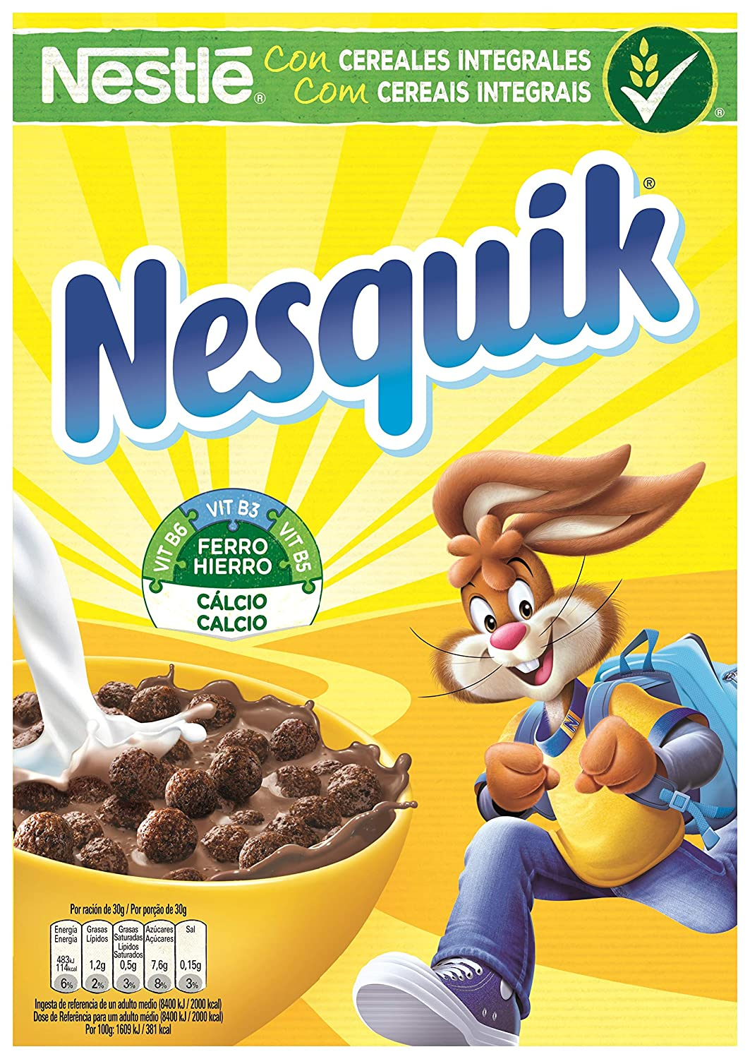 stm>Nesquick Chocolate Cereal, 263.6gr, 9.3oz