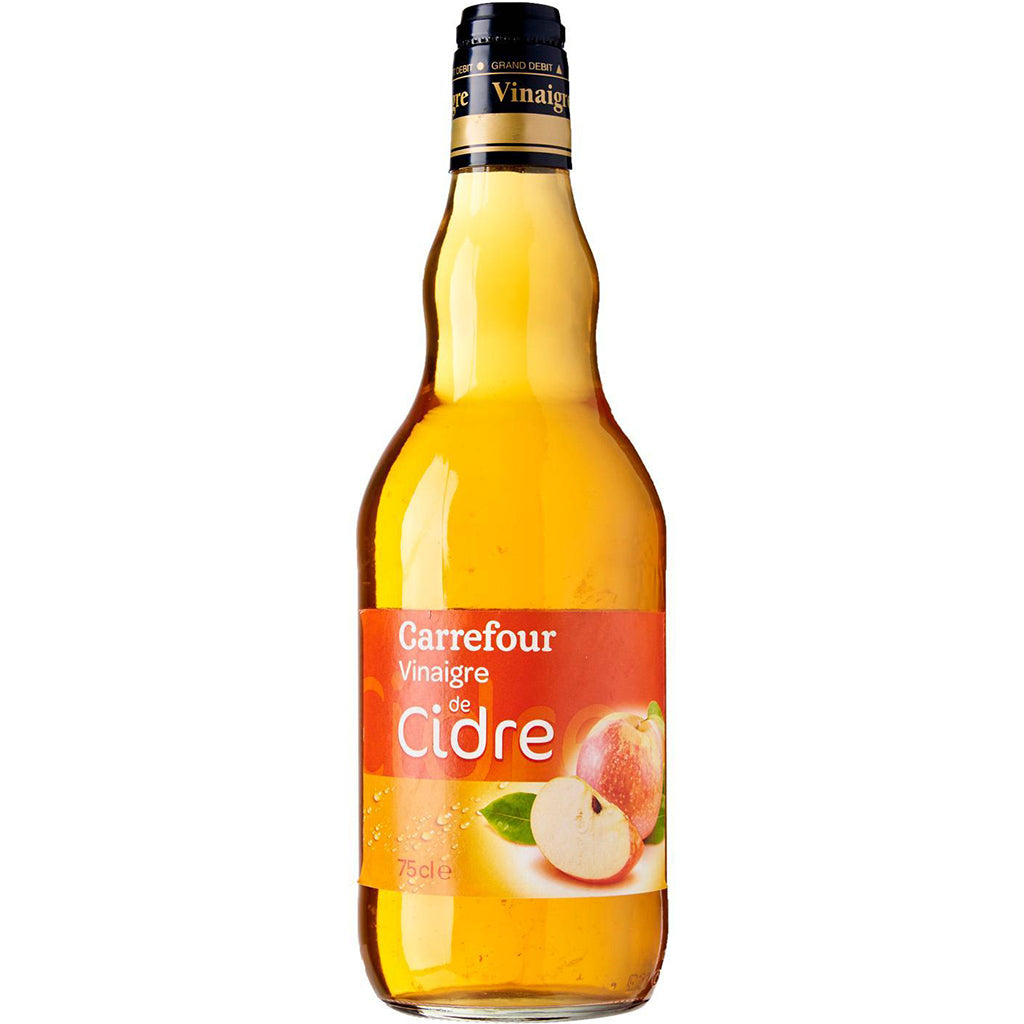 stm>Apple Cider Vinegar, Carrefour, 75cl