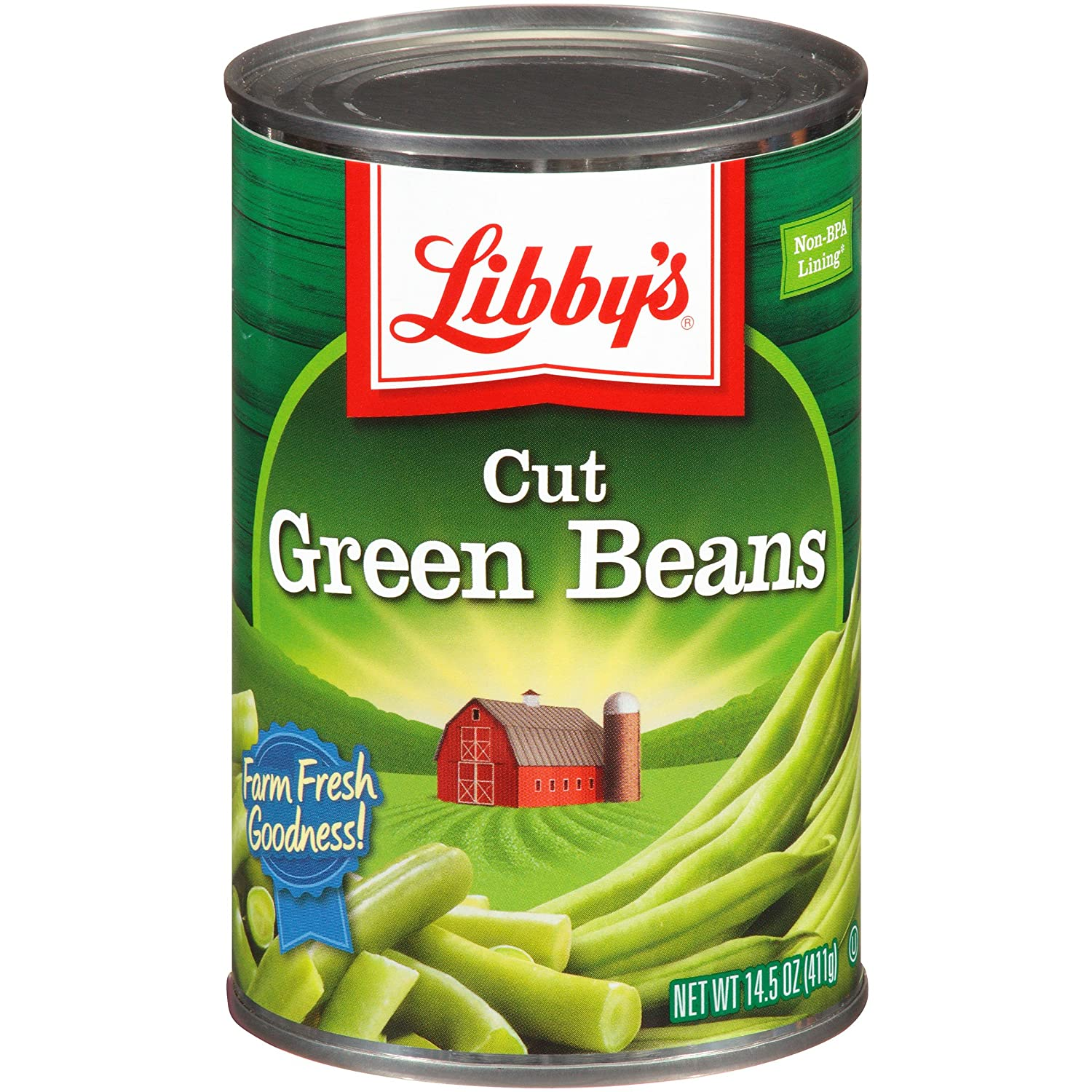 stm>Libby's Green Beans, Canned 411gr, 14.5oz