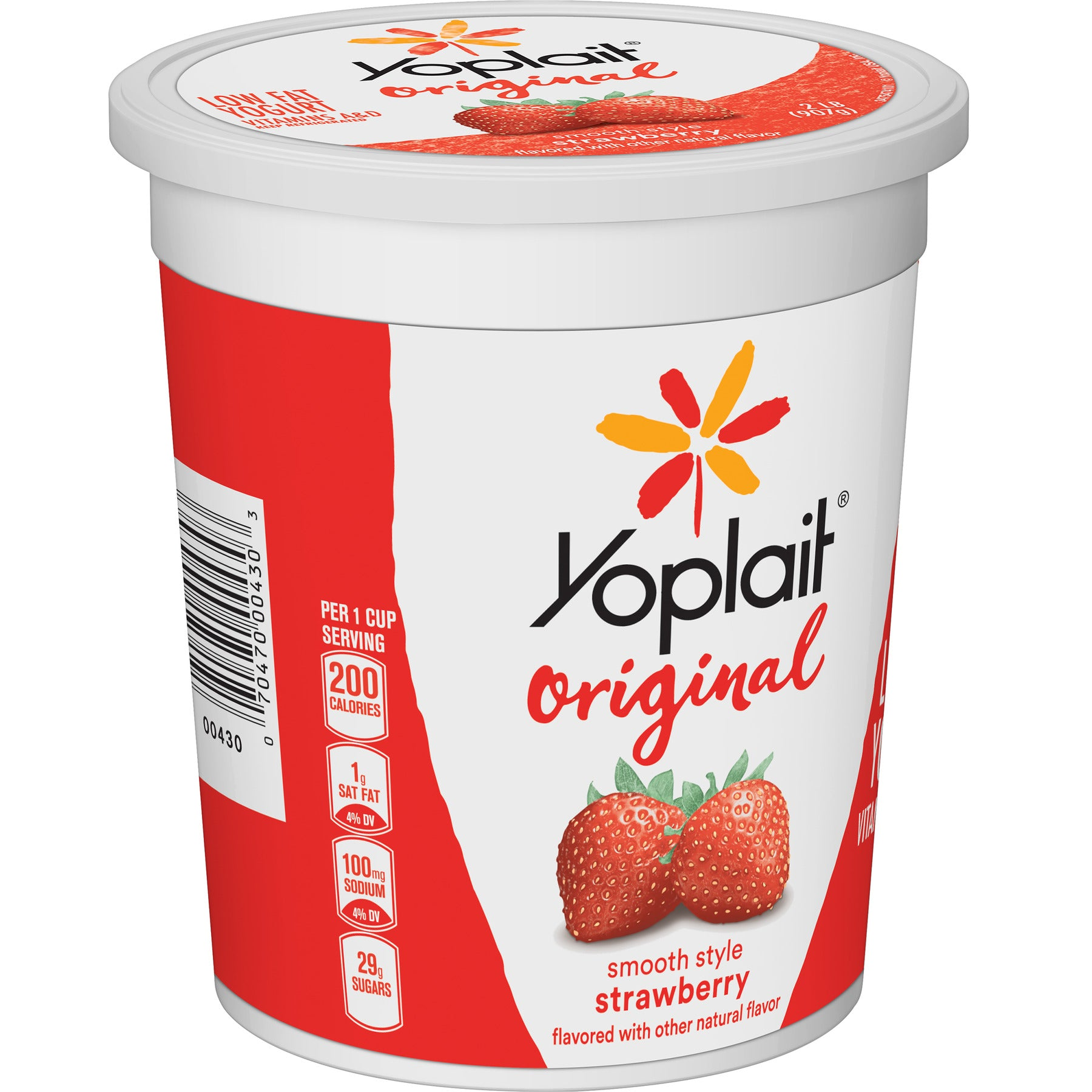 stm>Yoplait Assorted Fruit Yoghurt  x 4