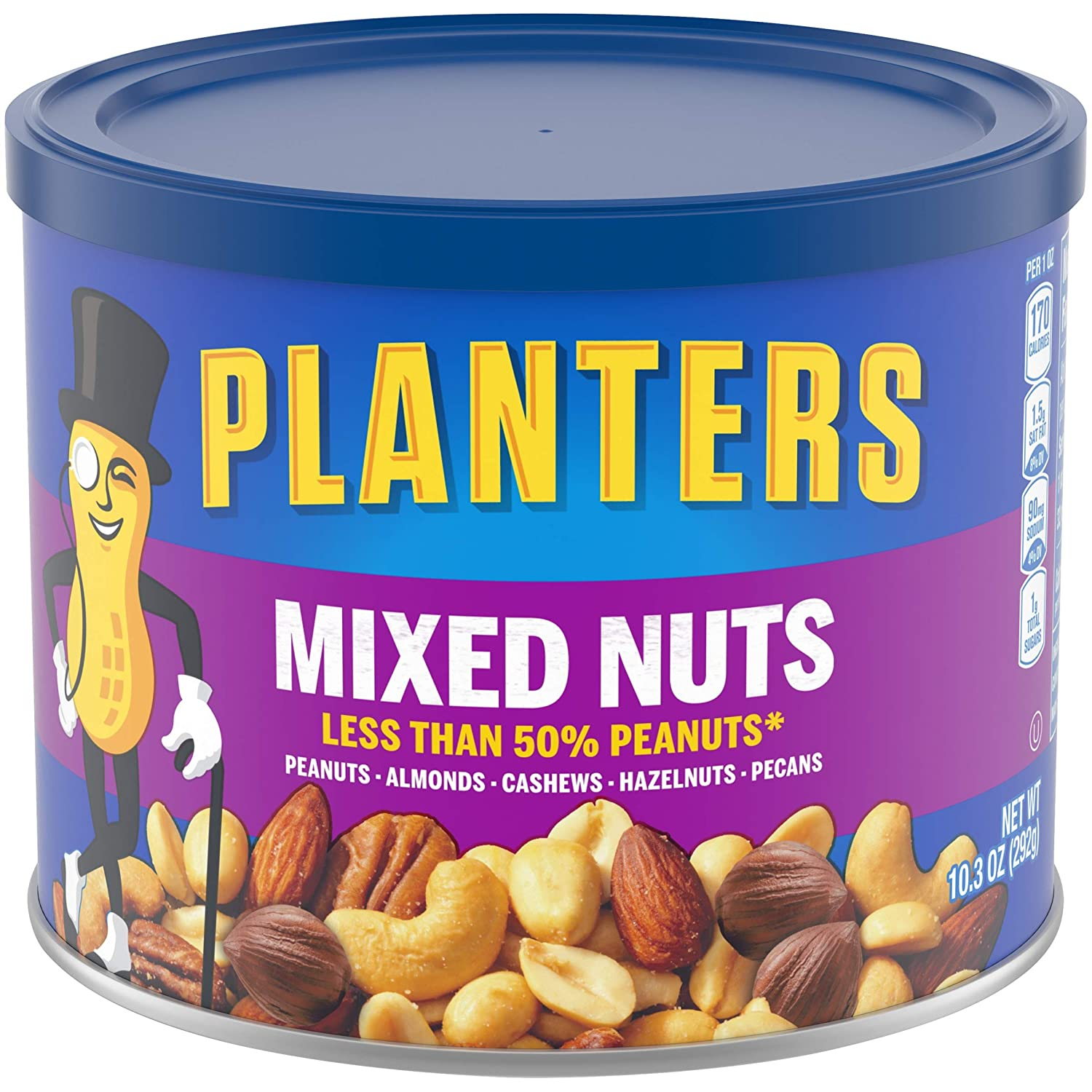 stm> Planters Mixed Nuts 248gr, 8.75oz