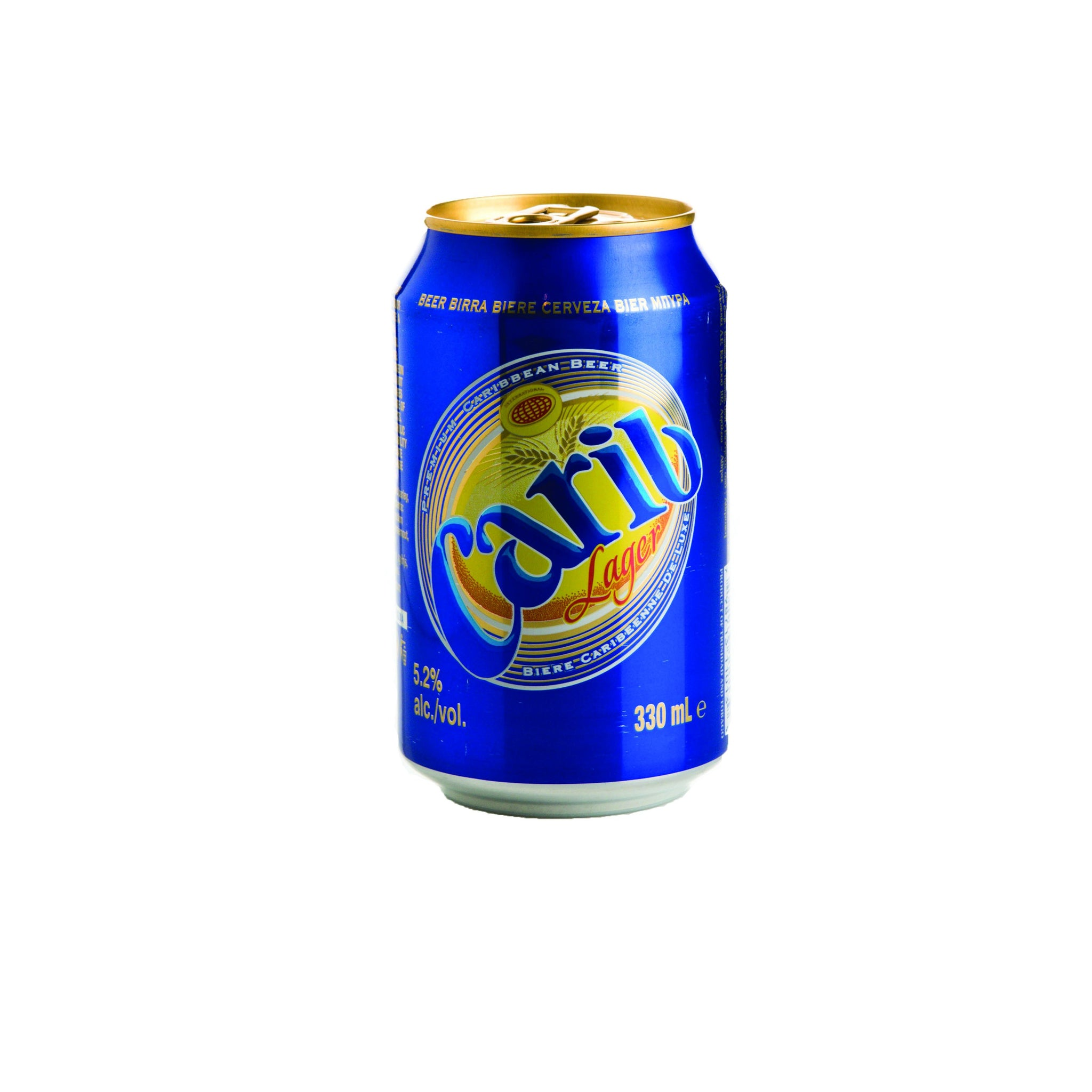 stm>Carib Beer, 24 pack