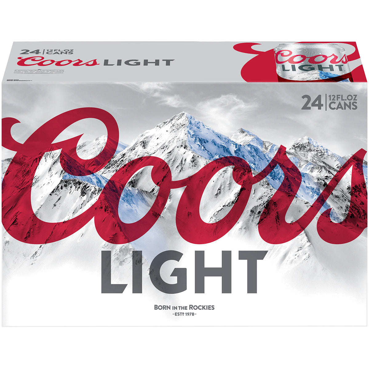 stm>Coors Light Beer, 24 pack 33cl