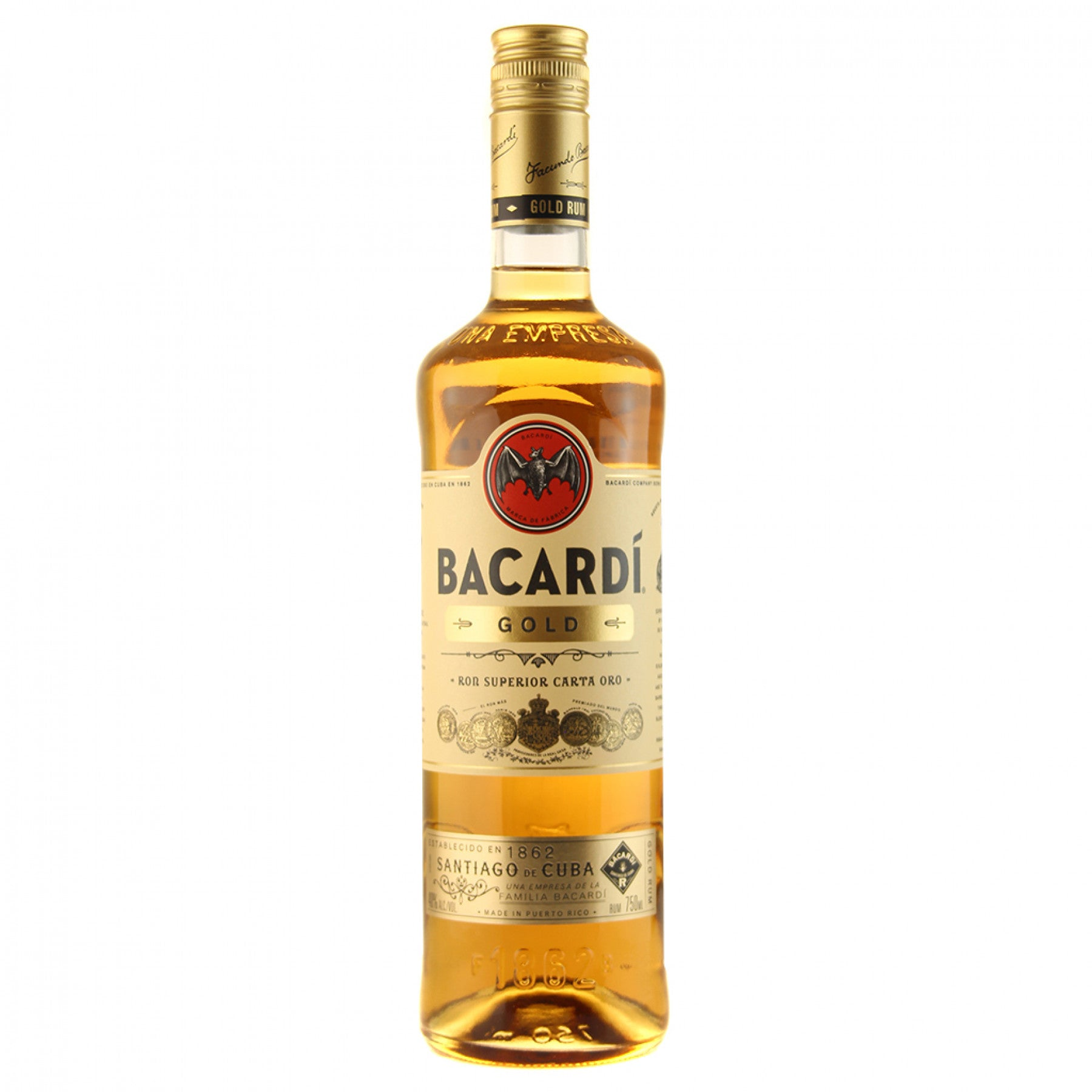 stm>Bacardi Gold Rum 750ml