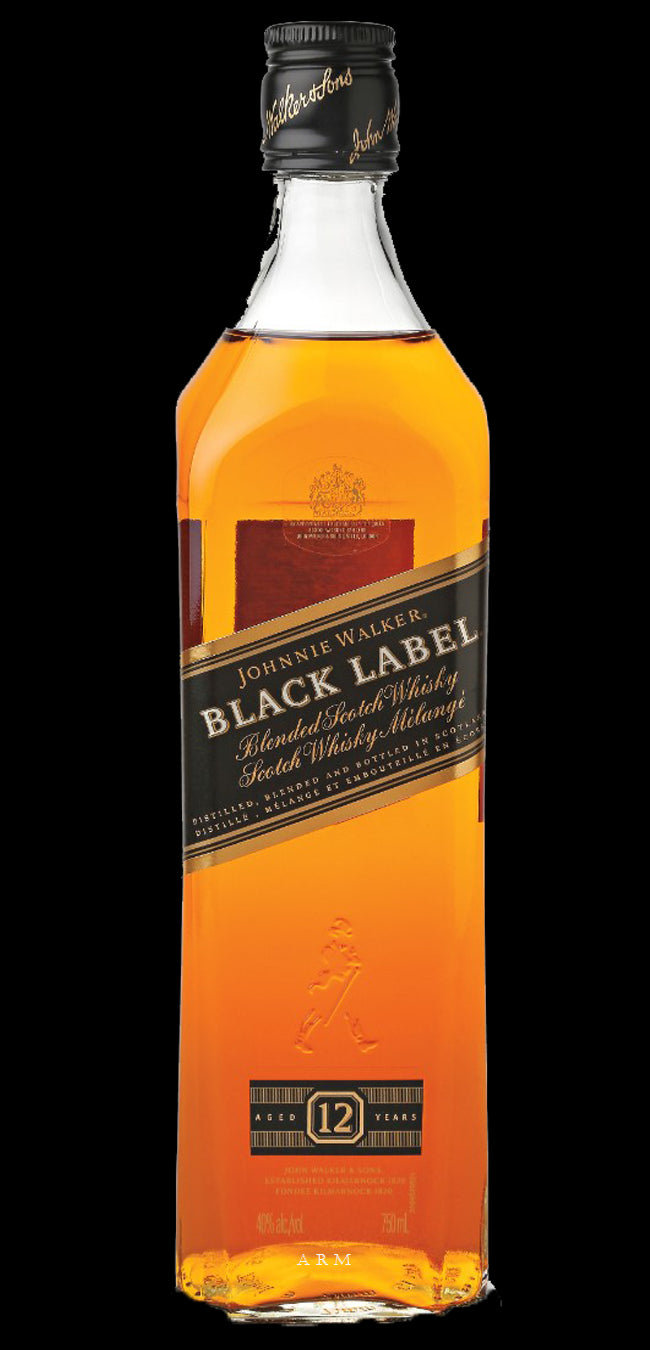 stm>Johnnie Walker Black Label Scotch Whisky 1 ltr