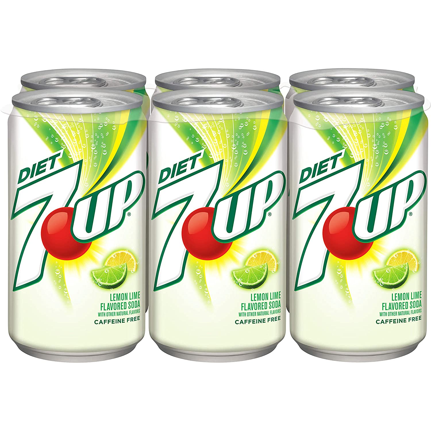 stm>7-Up Diet, 6 pack