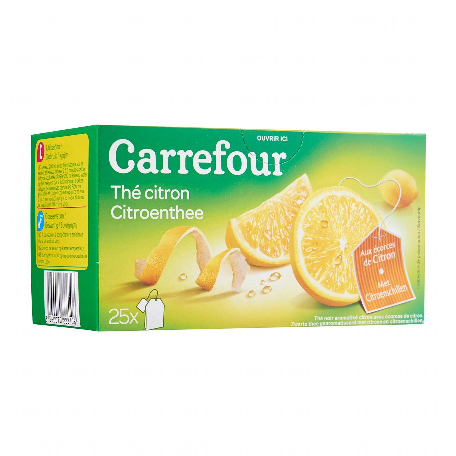 stm>Lemon Tea, Carrefour, 40gr