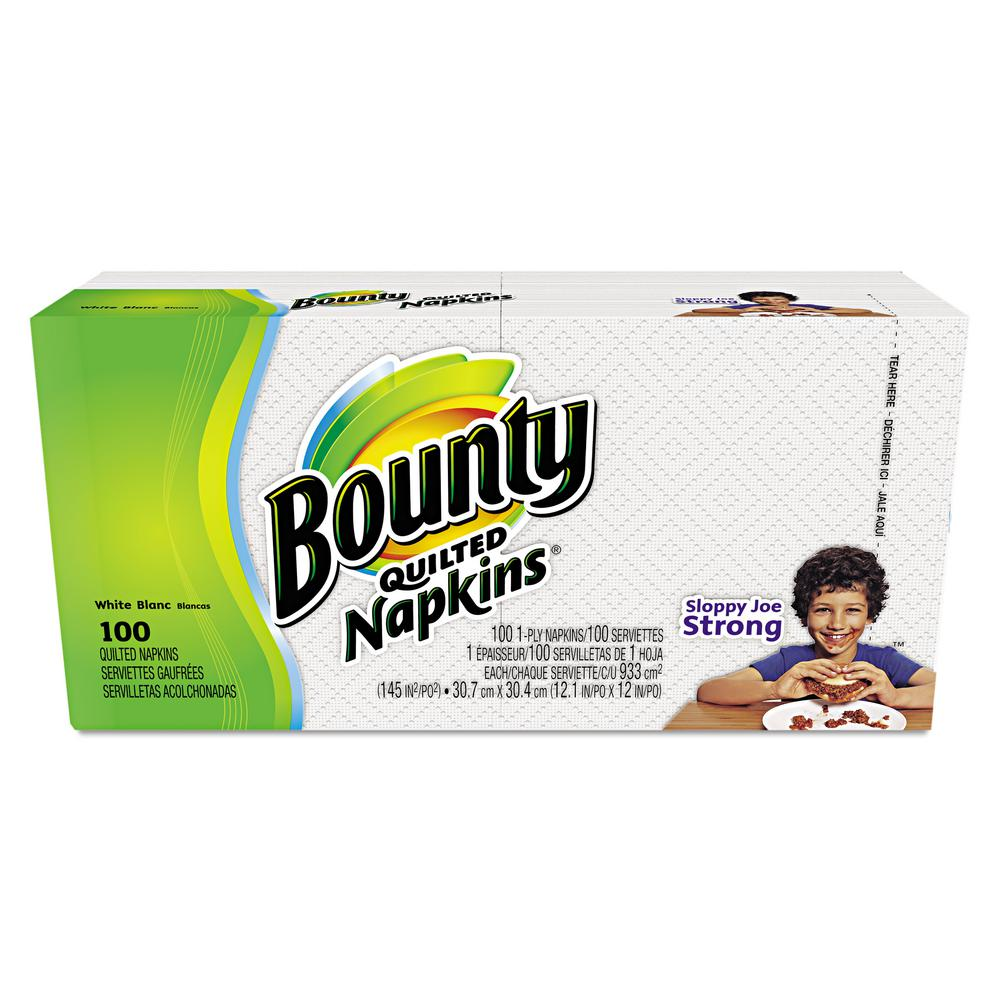 stm>Bounty Paper Dinner Napkins, 100 pack