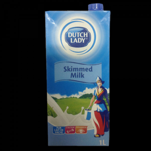 stl>Milk, Skimmed, Dutch Lady - 1lt