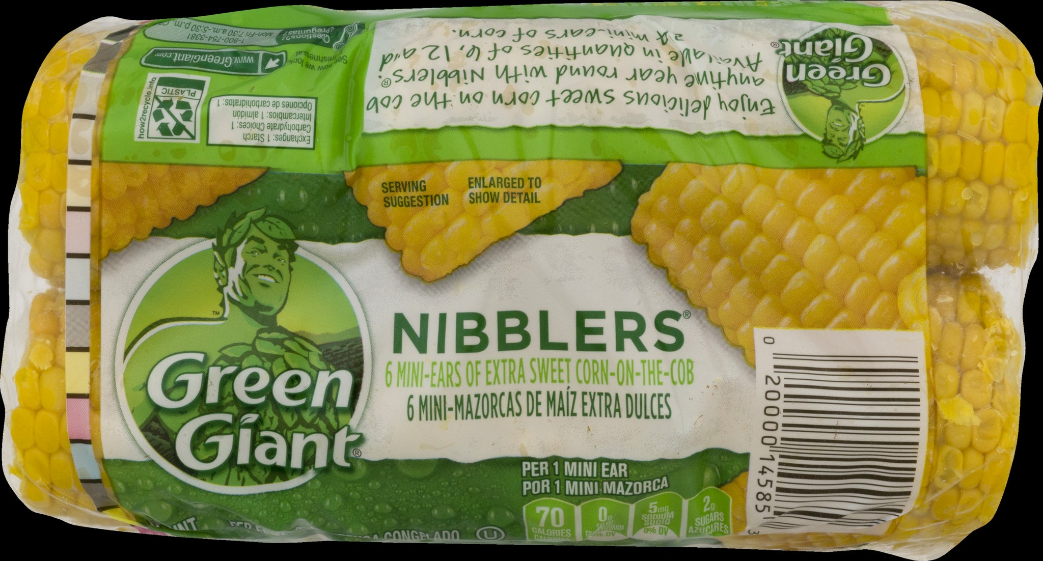 stl>Green Giant Corn On The Cob, Frozen - 6 pack