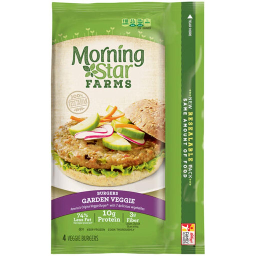stl>Morning Star Veggie Burgers - Pack of 4
