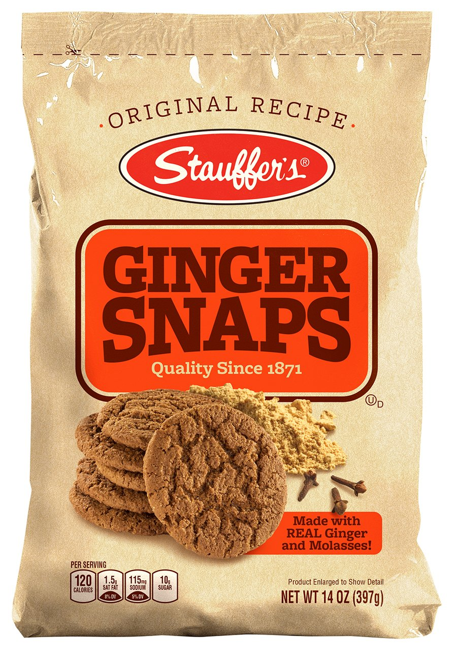 stl>Stauffer Ginger Snap Cookies (1 Pack)