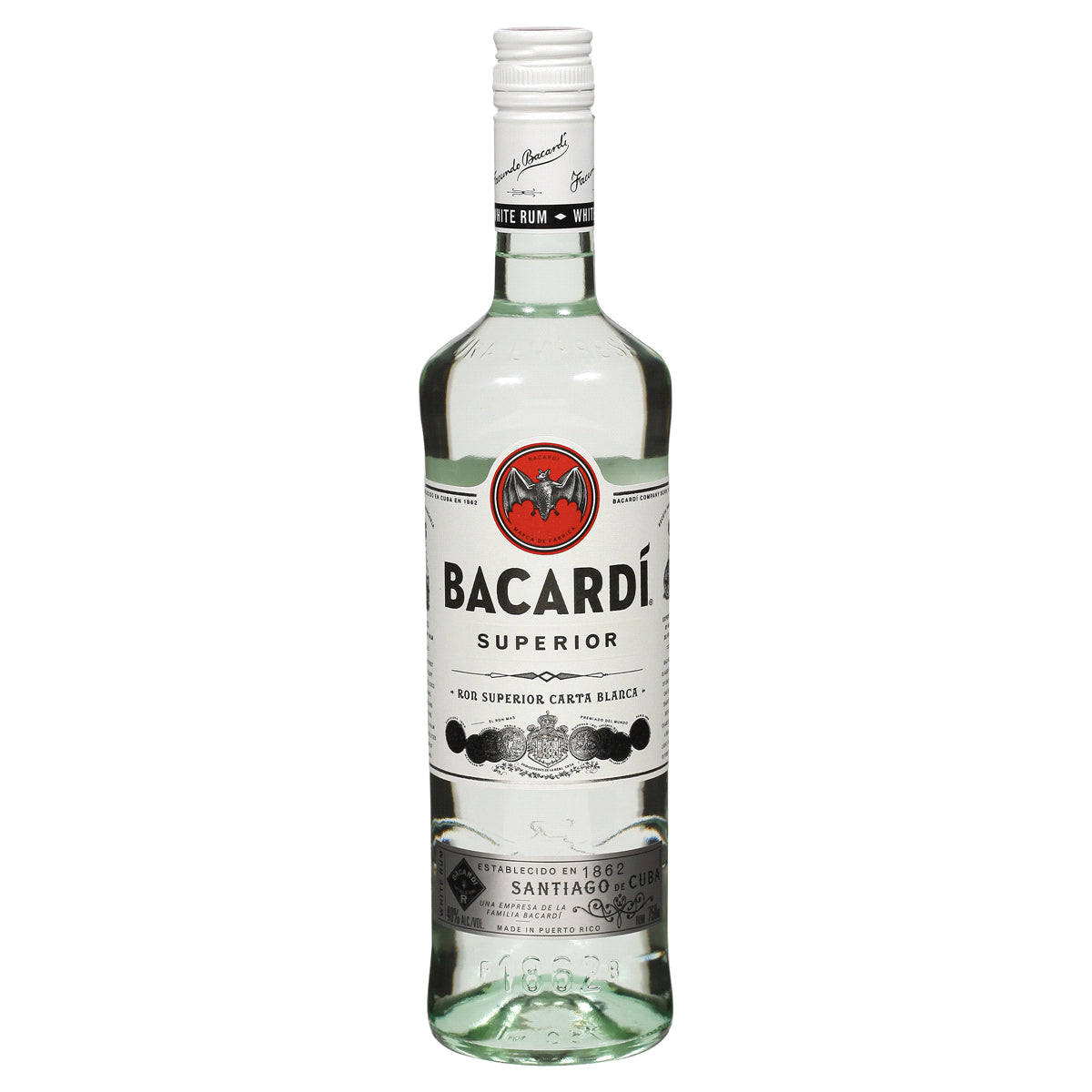 stl>Bacardi White Rum - 750 ml
