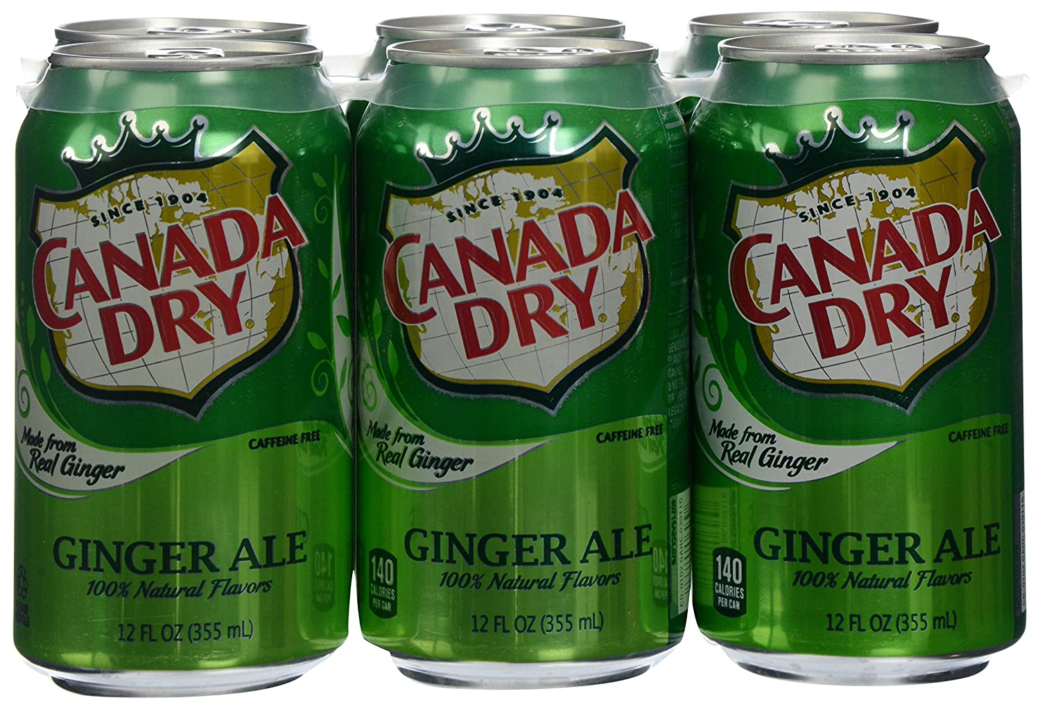 stl>Ginger Ale - 6 Pack - Canada Dry