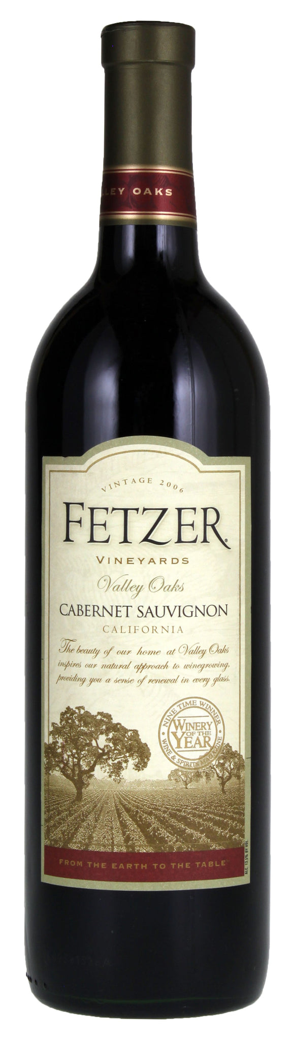 stl>Cabernet Sauvignon Fetzer Valley - 750ml