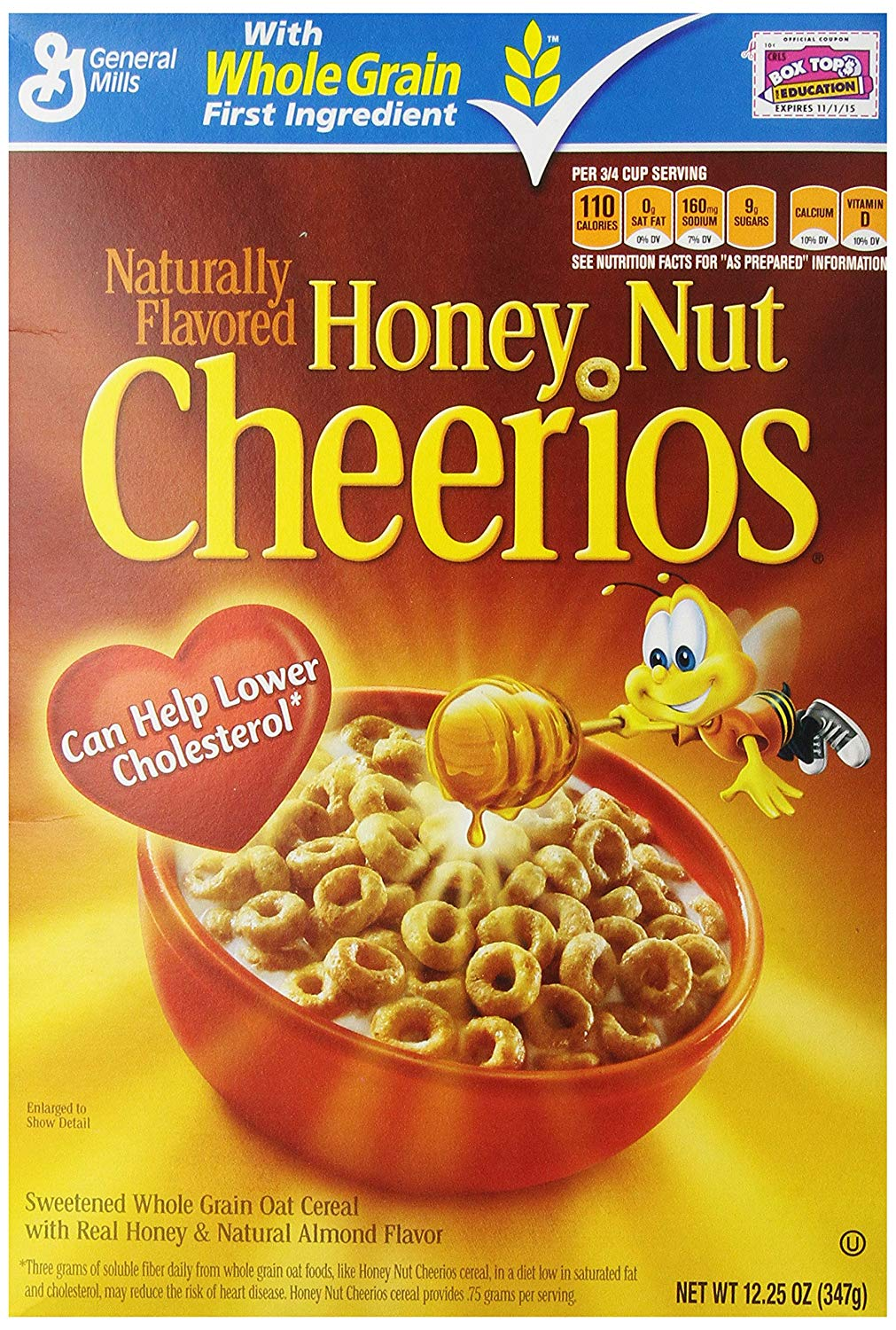 gre>Nestle Honey Nut Cheerios - 16.9oz - 1 Box