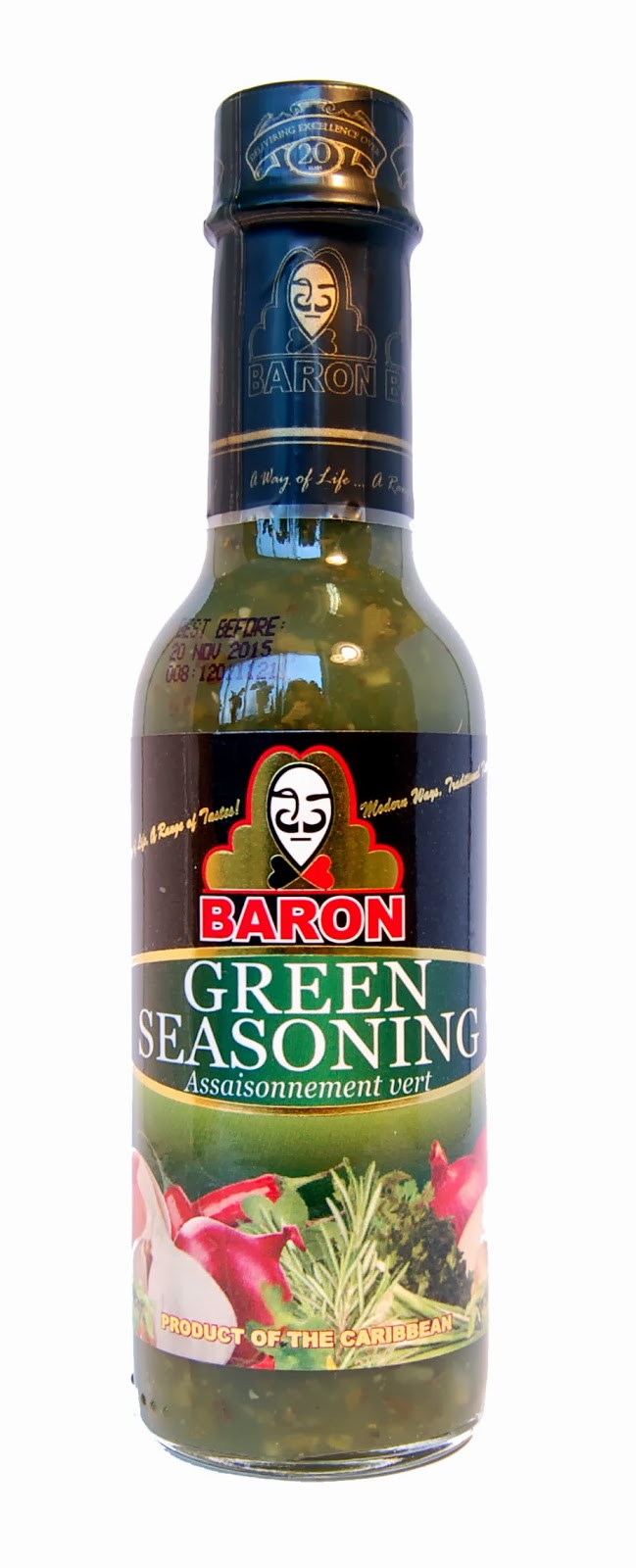 gre>Baron Green Seasoning - 14oz