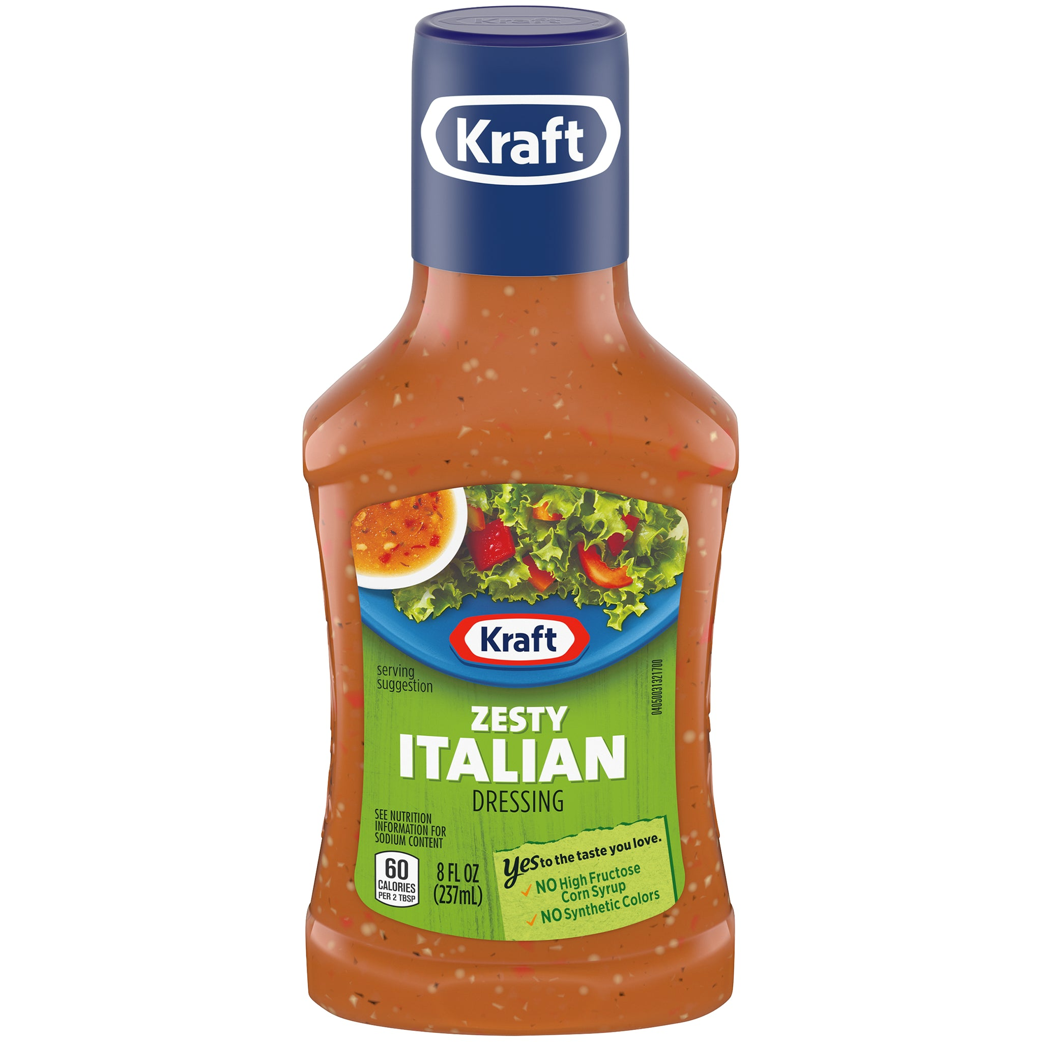 gre>Kraft Zesty Italian Dressing - 8oz