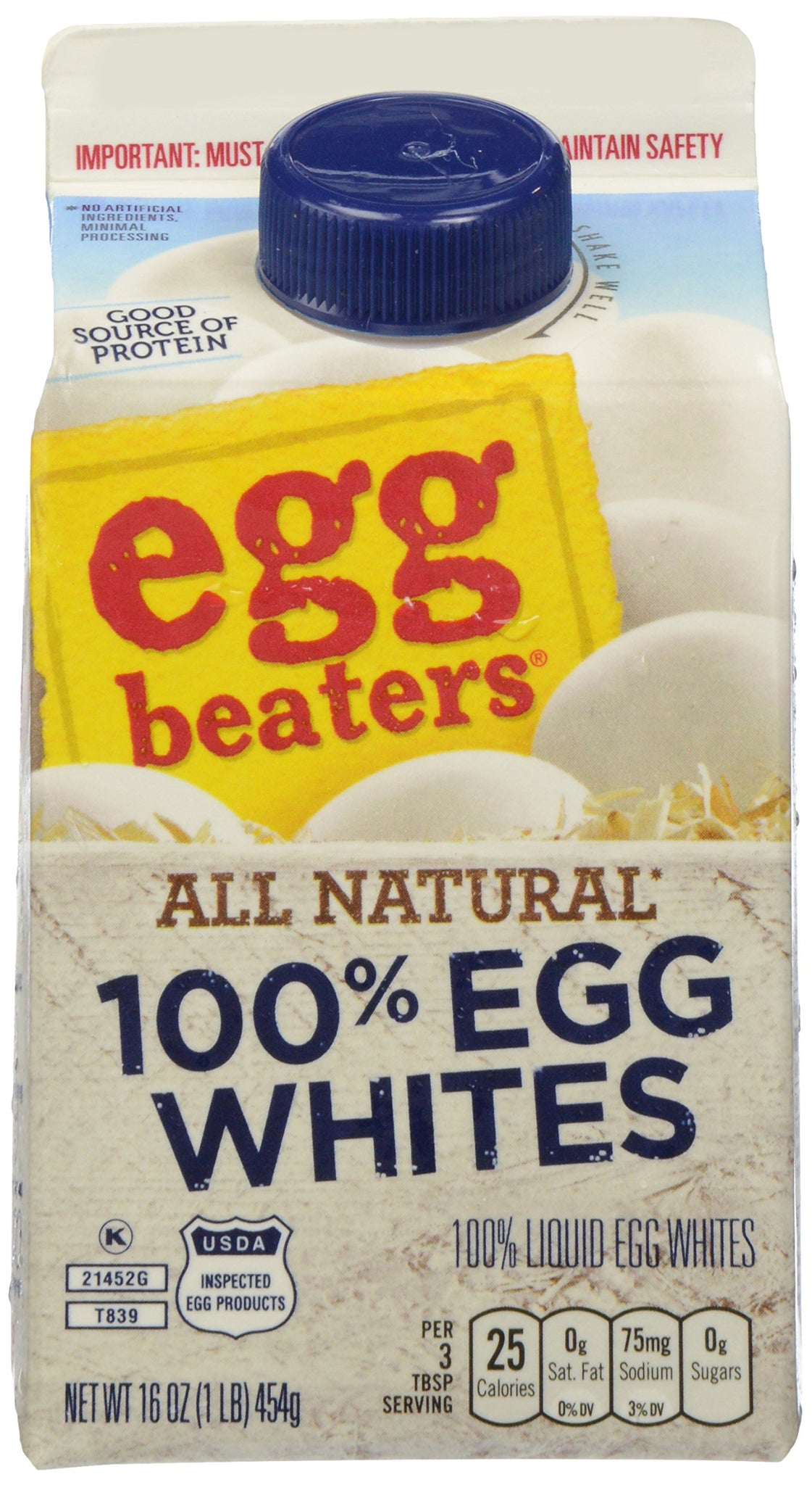 gre>Egg Beaters - 100% Egg Whites - 16oz