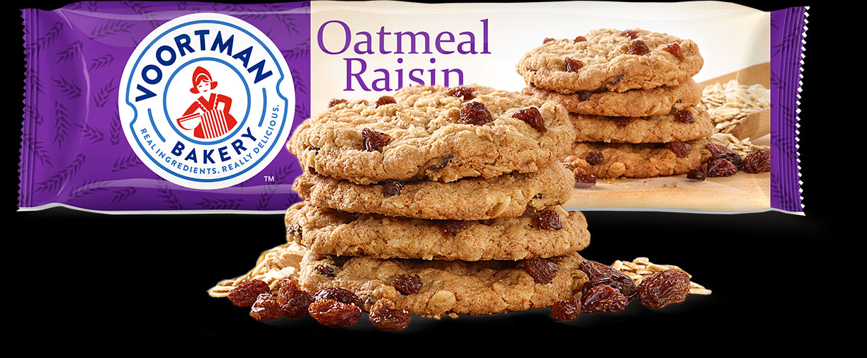 gre>Voortman Oatmeal & Raisin - Cookies - per packet