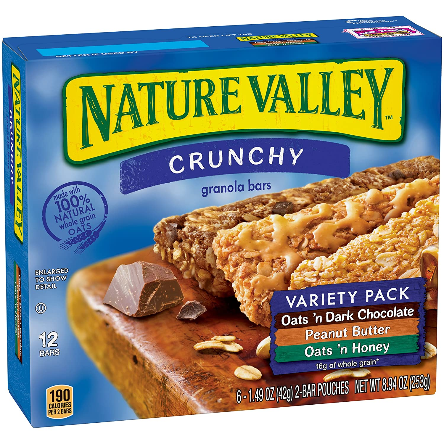 gre>Nature Valley Granola Bars Variety Pack
