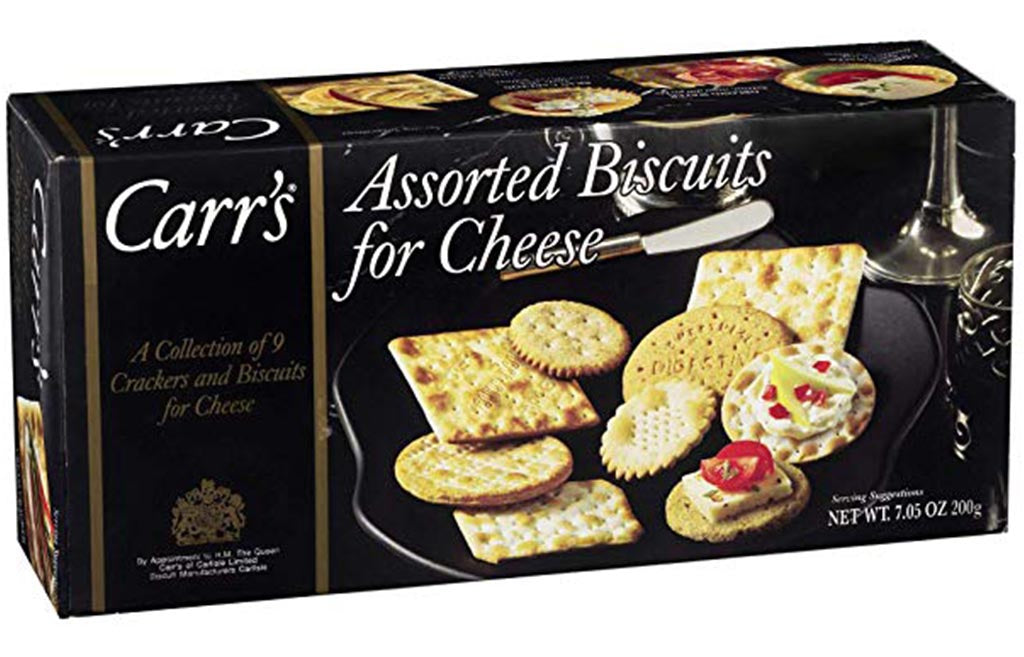 gre>Carr Crackers flavoured For Cheese - 7oz