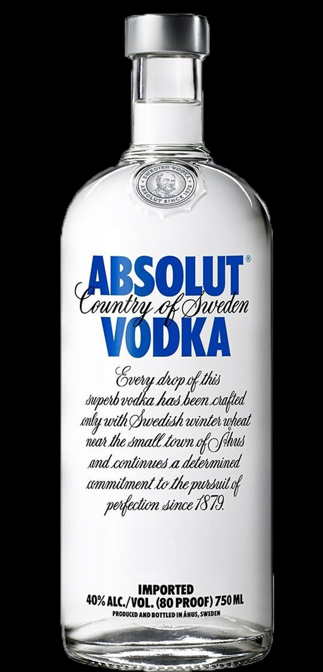 gre>Absolut Vodka -750ml