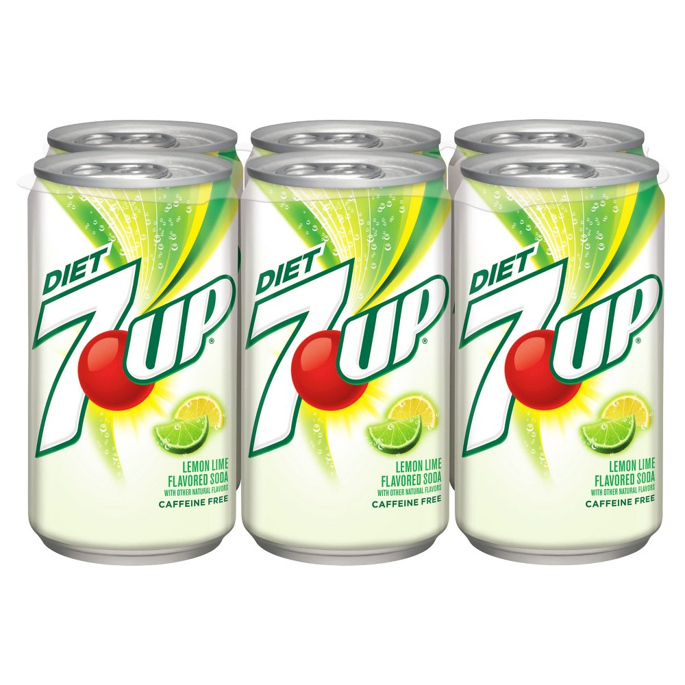 gre>7-Up Diet - 6 Pack - cans