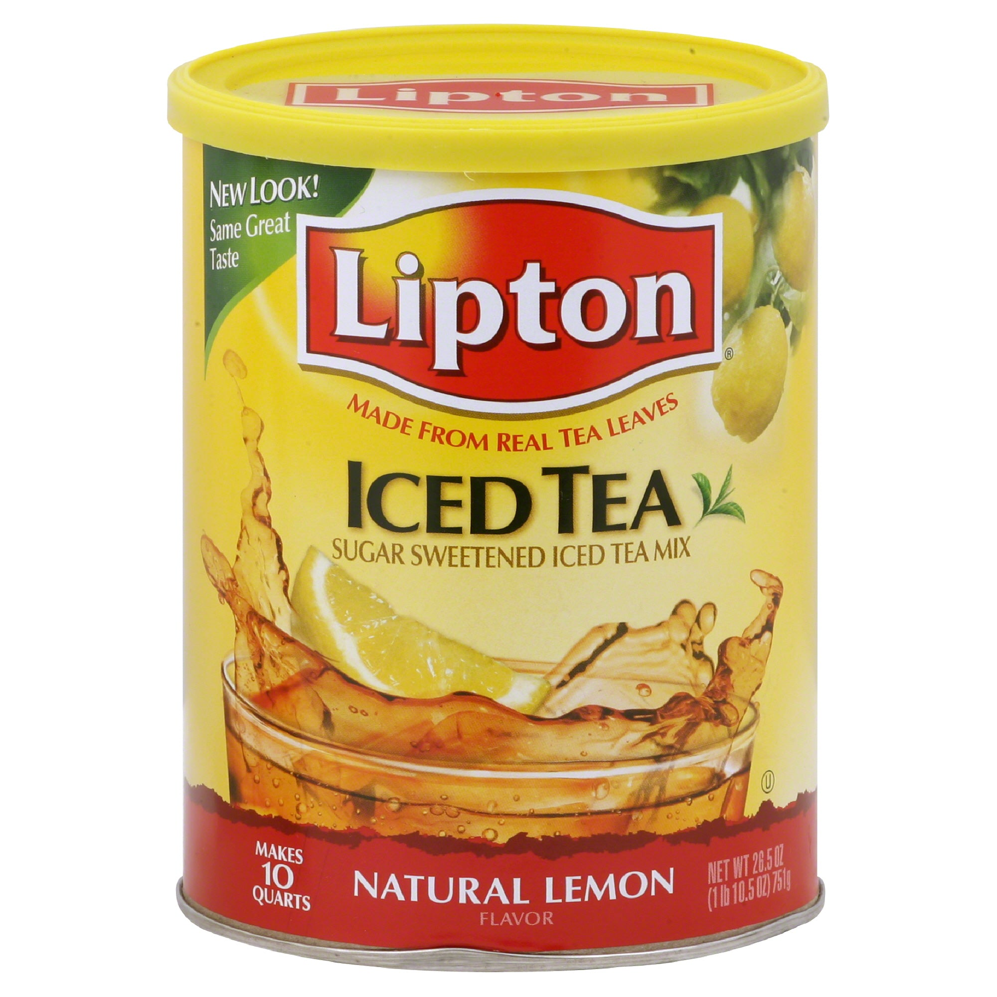 gre>Iced Tea Lemon Mix - Lipton - 751g