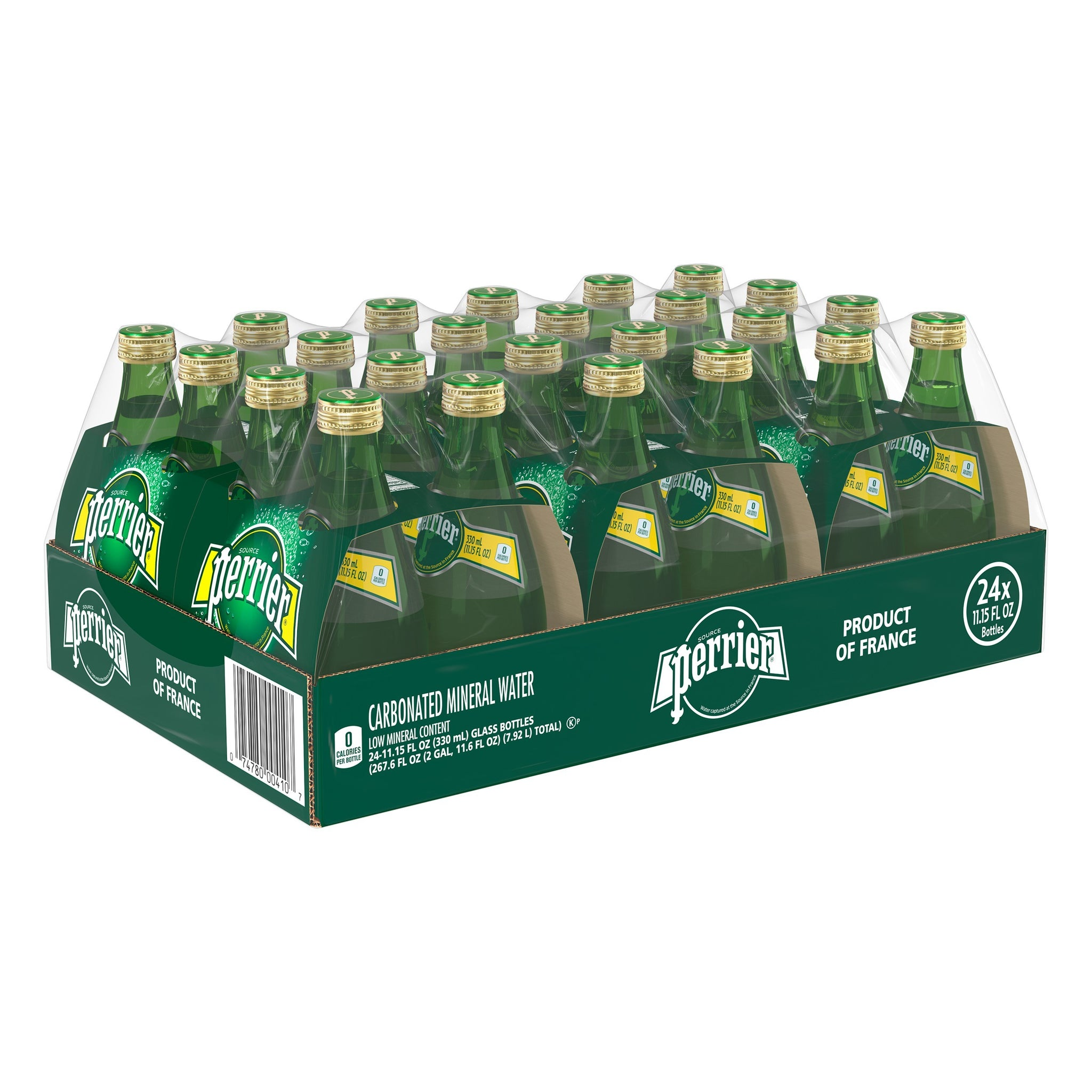 gre>Perrier Sparkling Water, 330 ml - 24 Pack