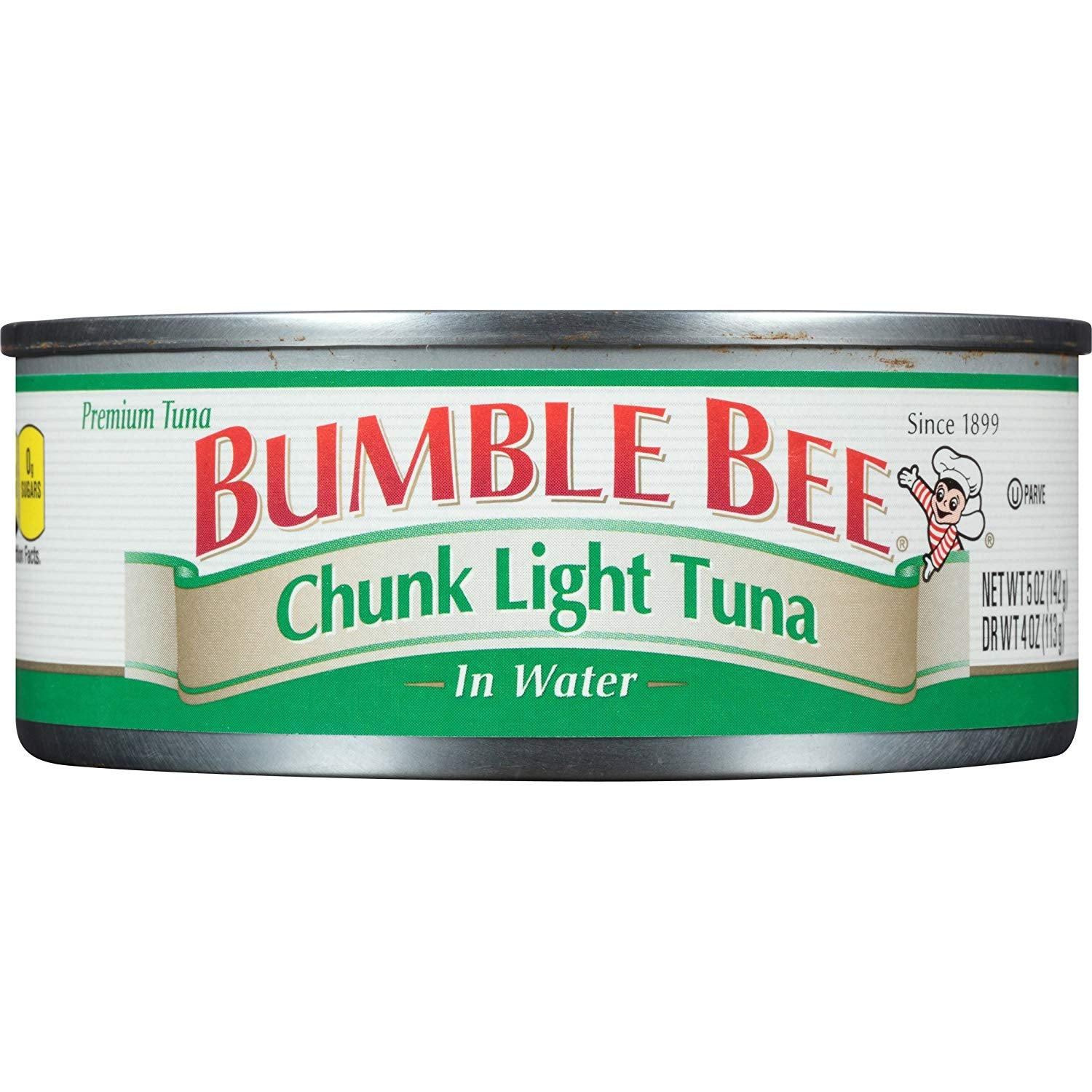 gre>Bumble Bee - Tuna In Water  chunk light - canned - 142g